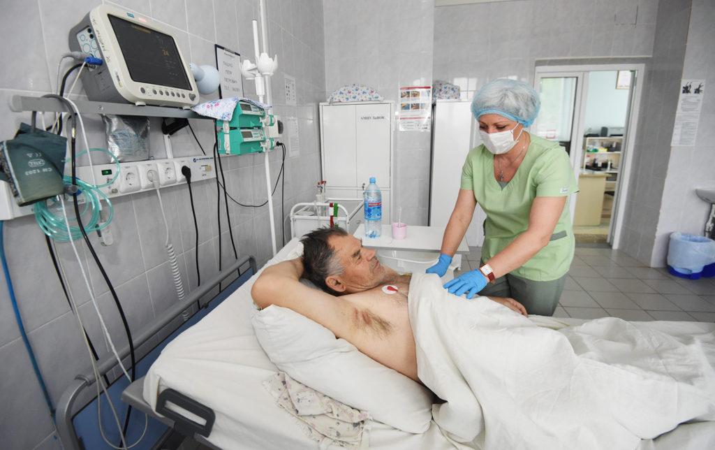 Цель – облегчить и стабилизировать состояние больного, улучшить качество жизни...