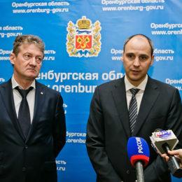 Денис Паслер и Андрей Козицин обсудили перспективы сотрудничества