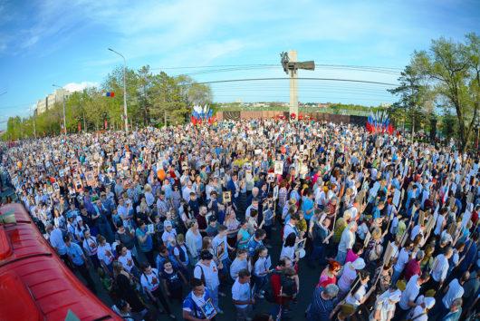 Бессмертный полк в Оренбурге: новый рекорд