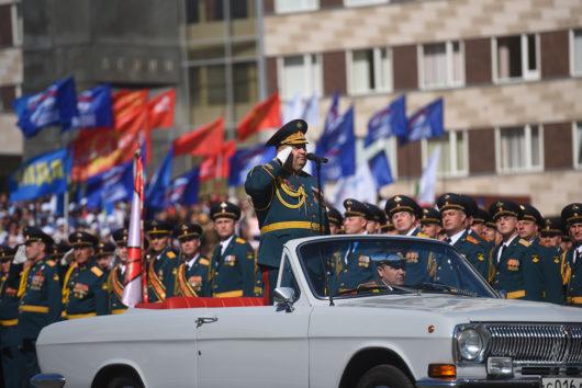 В Оренбурге прошёл Парад Победы