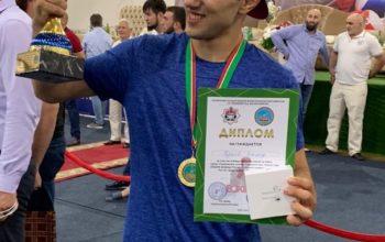 На матче в Грозном оренбуржцы завоевали две медали и титул лучшего спорстмена