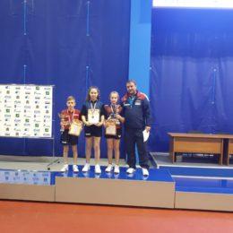 Оренбурженка победила в международном турнире по настольному теннису