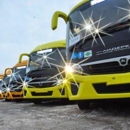 Оренбург получил новые автобусы с кондиционерами