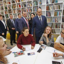 В Оренбурге открылась первая модельная библиотека