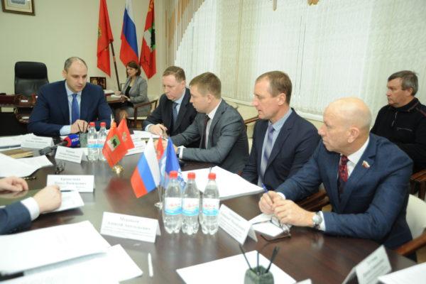 Губернатор Оренбуржья встретился с активом Бугуруслана