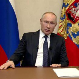 Владимир Путин выступил с обращением к нации: основное