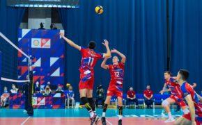 Волейбольный клуб «Нефтяник» проиграл «Уралу» со счётом 2:3