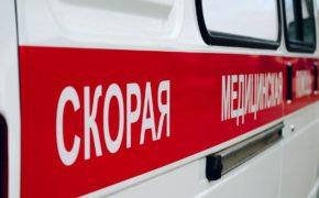 В Оренбурге девушка выпала с балкона восьмого этажа  (18+)