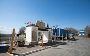 Елизаветинский спуск на набережной Урала в Оренбурге откроют в сентябре