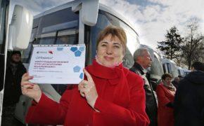Девять районов Оренбуржья получили мобильные фельдшерско-акушерские пункты