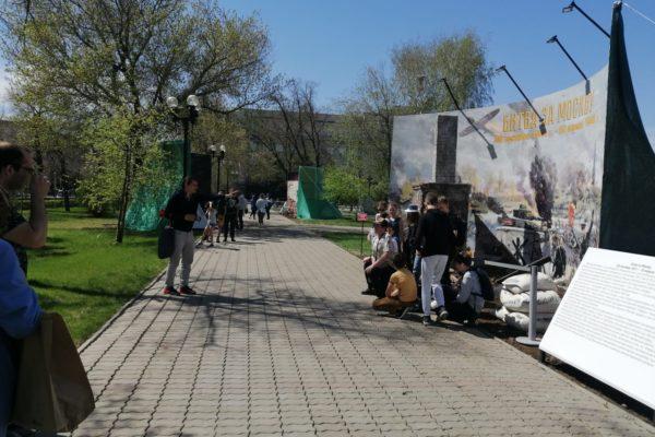 В Оренбурге начала работу экспозиция «Великие сражения Великой Отечественной войны»