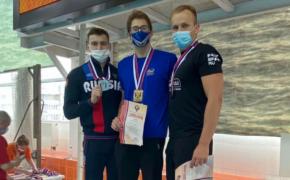 Орчанин стал четырёхкратным чемпионом России по подводному спорту