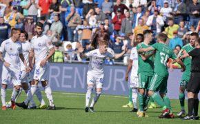 «Оренбург» обыграл «Томь» со счётом 2:0