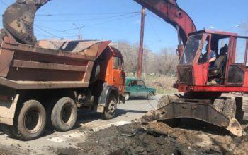В Новотроицке из-за аварии отключили водоснабжение в 16 домах