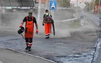 В Оренбурге продолжается ремонт дорог