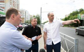 Денис Паслер проверил ход дорожного ремонта в Оренбурге