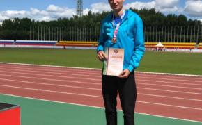 Оренбургские легкоатлеты завоевали восемь медалей на чемпионате России