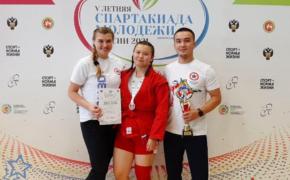 Ильвина Досаева из Оренбурга завоевала бронзу Спартакиады молодежи по самбо