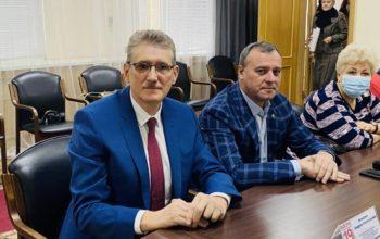 Избранным депутатам Государственной думы от Оренбургской области вручили удостоверения