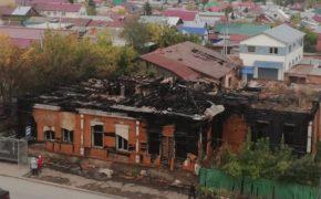 В Бугуруслане дважды горел объект культурного наследия