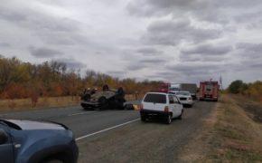 На трассе «Оренбург – Илек» погиб водитель автомобиля LADA Priora